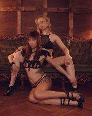 Lesbian Duet, Caucasien